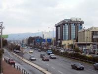 Straßenverkehr in Athen