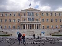 Regierungssitz in Athen