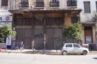 Die Euro-Krise greift um sich: Geschlossenes Geschäft in Athen, Griechenland