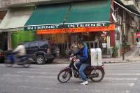 Internetcafé in der griechischen Hauptstadt Athen