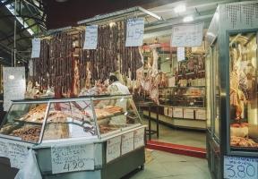 Markt in Thessaloniki