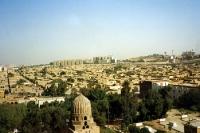 Blick auf Wohngebiete in Kairo