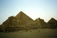 Pyramiden bei Gizeh in Ägypten