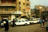 vor dem Ciao Hotel in Kairo