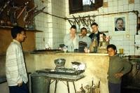 zu Gast in einer ägyptischen Bar in Kairo