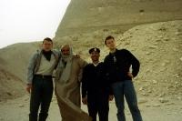 An der Knickpyramide von Dashur