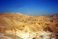 Wüstenlandschaft in Ägypten