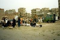Markt in der ägyptischen Oase El Fayum