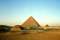 Pyramiden bei Gizeh / Kairo