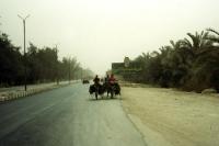 Provinzstraße in Ägypten