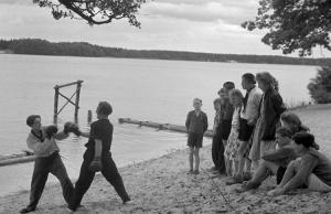 Boxen am Hölzernen See