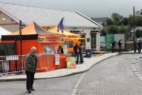 Imbissstand in der irischen Kleinstadt Ballyshannon