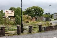 Grenze zwischen der Republik Irland und Nordirland bei Drumlisaleen
