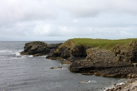 Landschaft am Point Ed Dunkineely bei Killybegs und Donegal in Irland