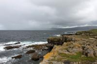 Felsen, Klippen und Steilküste an der irischen Westküste