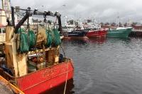 Fischfang an der irischen Westküste, Fischerboote & Schiffe in einem Hafen