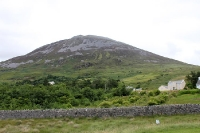 Der Mount Errigal im County Donegal