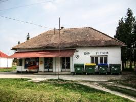 ein Dom Zlebiha in Kroatien