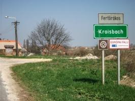 Grenzdenkmal in Fertörákos bei Sopron