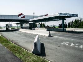 Grenzübergang Fertöd / Pamhagen