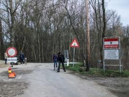 Grenzübergang Österreich / Slowakei bei Hohenau