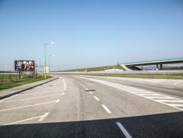 Grenzübergang Slowakei / Österreich bei Bratislava