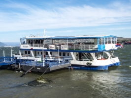 Kladovo am Ufer der Donau (Serbien)