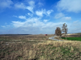 Landschaft in der Region Kirklareli