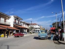 letzte Ortschaft vor der griechisch-türkischen Grenze
