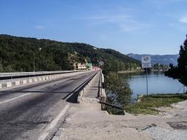 Orsova an der Donau (Rumänien)