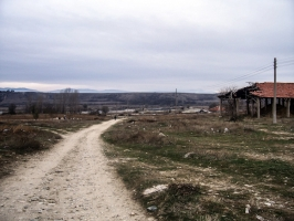 Route von Bobosevo (Bulgarien) nach Mazedonien
