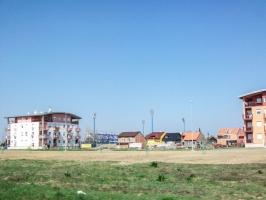 Stadion in Osijek (Abstecher vom Iron Curtain Trail)