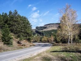Straße nach Ivajlovgrad und Svilengrad