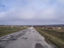 Straße von Edirne nach Lalapasa und Kayali