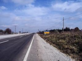 Straße von Kirklareli nach Malko Tarnovo