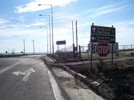 Straße von Orméni nach Petrotà