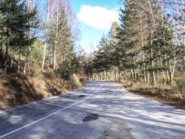 Straße von Smoljan nach Zlatograd