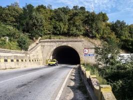 Tunnel vor Drobeta-Turnu Severin