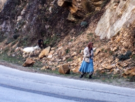 Unterweg zwischen Zlatograd und Momcilgrad
