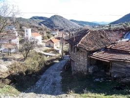 Unterwegs in den Bergen bei Petric