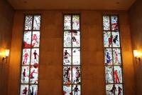ITB 2012 in Berlin, historische Messehallen am Eingang Messe Nord