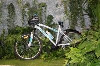 Mit dem Mountainbike in den Dschungel, Messestand auf der ITB 2012