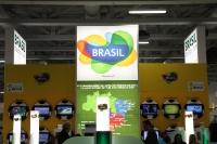 Brasilien, Gastgeberland der Fußball-WM 2014, auf der ITB 2012 in Berlin