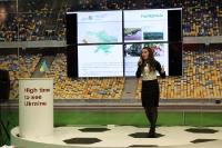 EM-Gastgeberland Ukraine präsentiert sich auf der ITB 2012 in Berlin