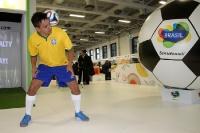 Messestand Brasilien, Fokus WM 2014