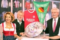 Messestand des FC Bayern München auf der ITB 2013