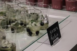Rakija-Cocktails am Serbien-Stand