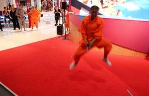 Vorführung der Shaolin-Mönche