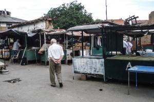 ein Markt in Pristina