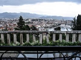 Blick auf Split / Adria